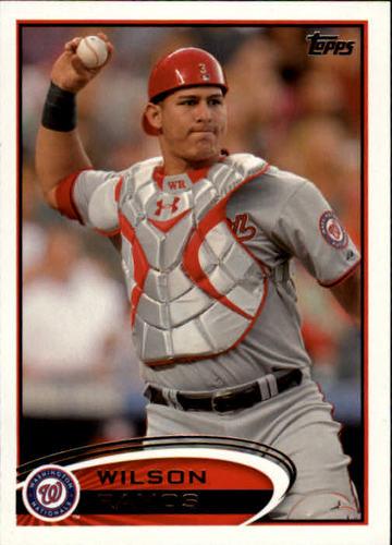Photo of 2012 Topps #12 Wilson Ramos