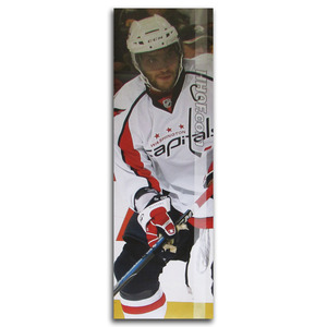 Alex Ovechkin Washington Capitals Poster Once on Display at the Hockey Hall of Fame