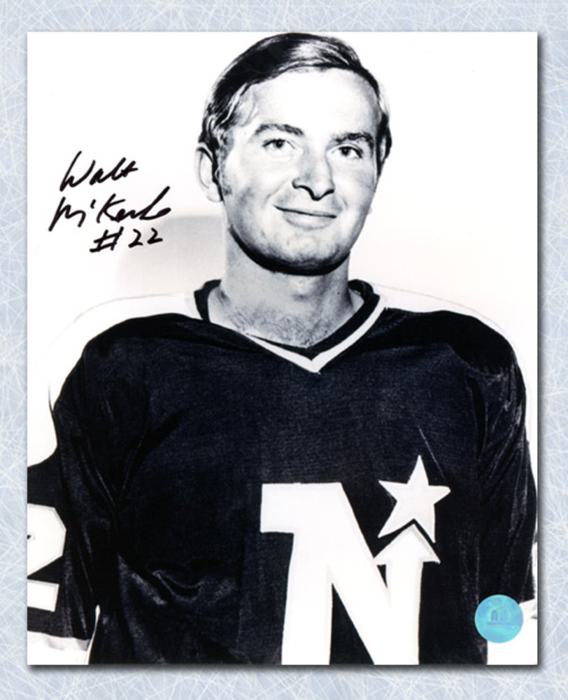 Walt Mckechnie Minnesota North Stars Autographed 8x10 Photo