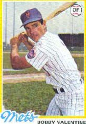 Photo of 1978 Topps #712 Bobby Valentine
