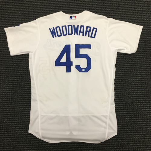 Photo of LA Dodgers Foundation Auction: Chris Woodward Game-Used LA Dodger Jersey