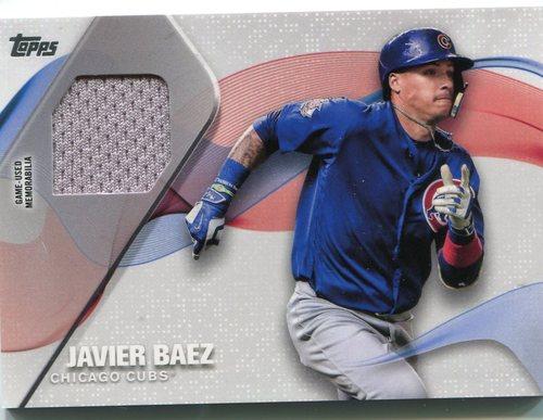 Photo of 2017 Topps Major League Materials #MLMJBA Javier Baez