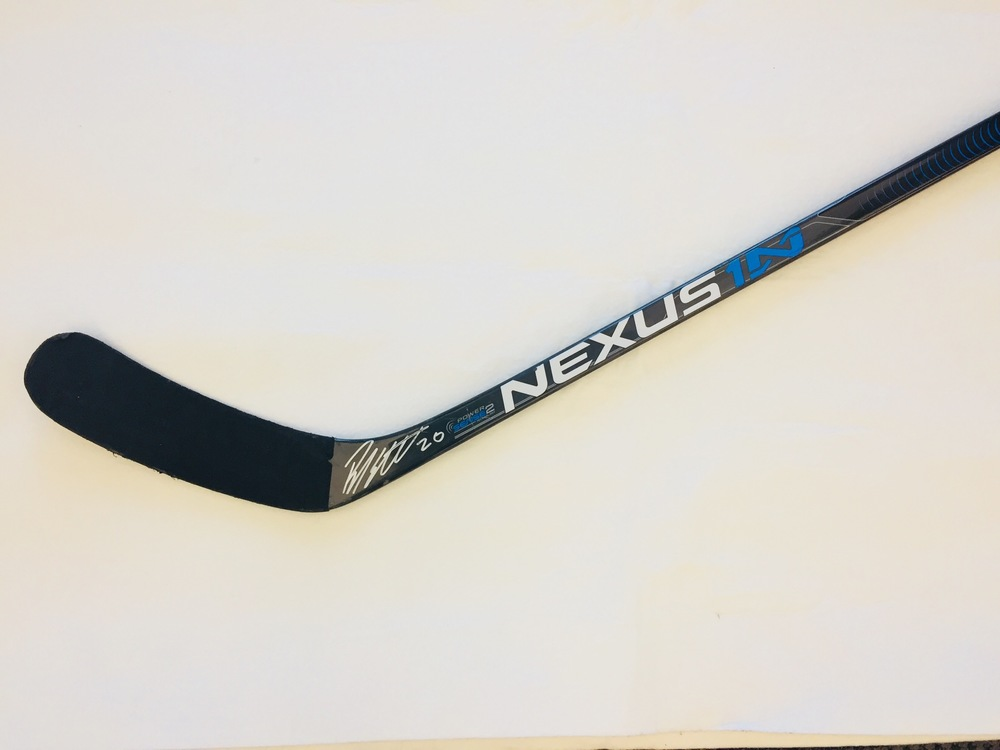 Brandon Sutter, Vancouver Canucks  Game-Used and Autographed Stick For Easter Seals Ontario