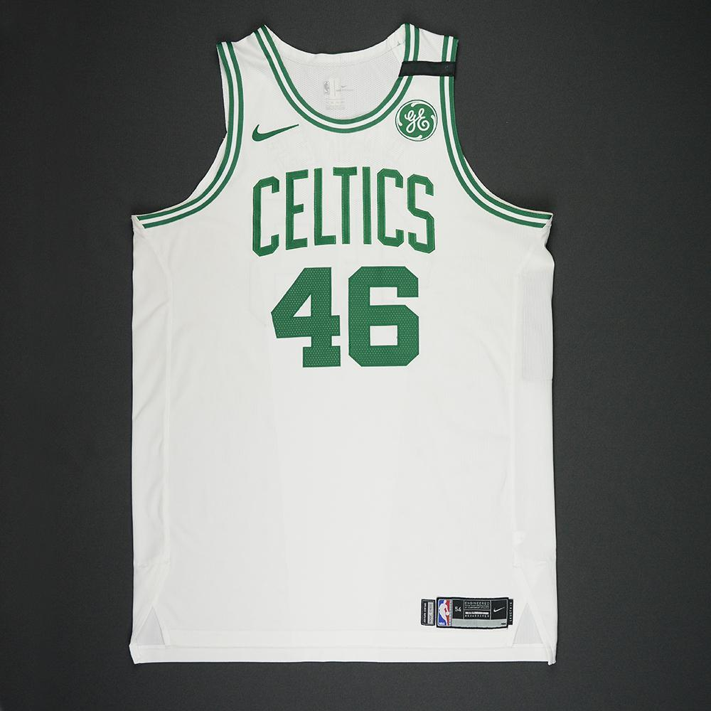 Aron Baynes - Boston Celtics - 2018 NBA Playoffs Game-Worn Jersey