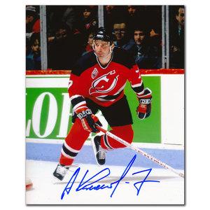 Alexei Kasatonov New Jersey Devils Breakout Autographed 8x10