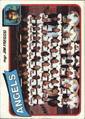 Photo of 1980 Topps #214 California Angels CL/Jim Fregosi MG