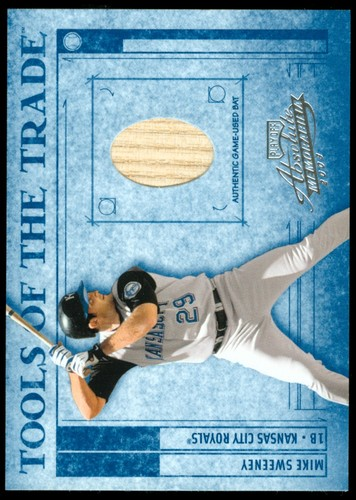 Photo of 2003 Absolute Memorabilia Tools of the Trade Materials #51 Mike Sweeney Bat/250