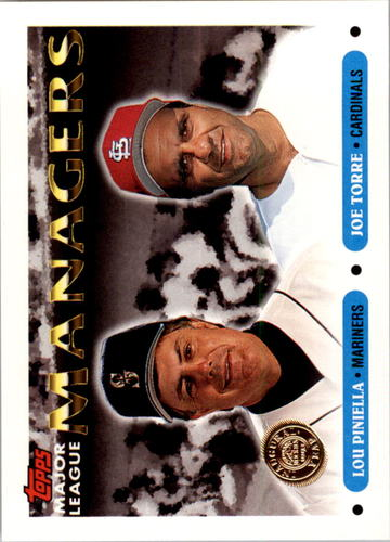 Photo of 1993 Topps Inaugural Rockies #512 Lou Piniella MG/Joe Torre MG