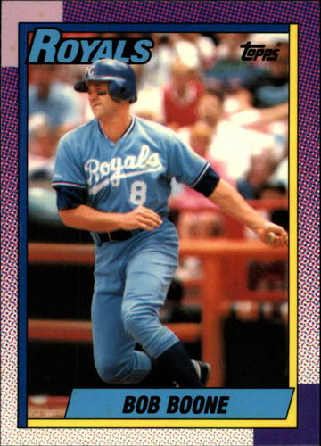 Photo of 1990 Topps Tiffany #671 Bob Boone