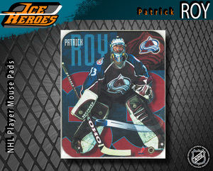 PATRICK ROY Colorado Avalanche Mouse pad - New in Plastic