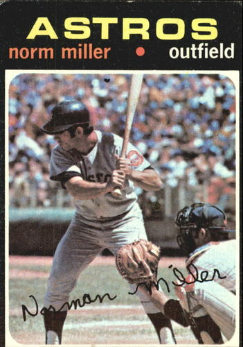 Photo of 1971 Topps #18 Norm Miller