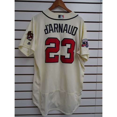 Photo of Chase d'Arnaud Game-Used Jersey Worn during the Final Game at Turner Field