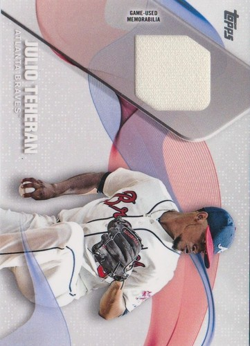 Photo of 2017 Topps Major League Materials #MLMJT Julio Teheran