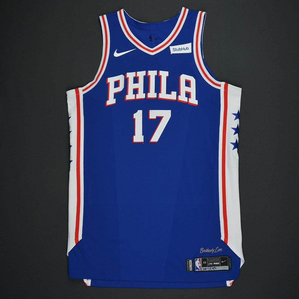 JJ Redick - Philadelphia 76ers - Kia NBA Tip-Off 2017 - Game-Worn Jersey