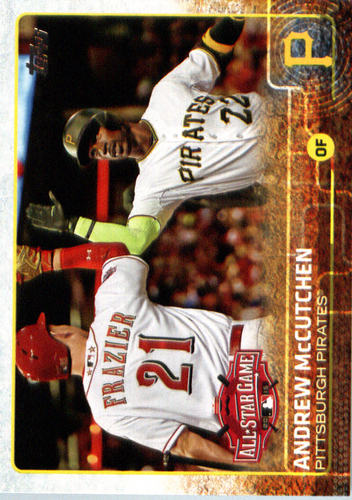 Photo of 2015 Topps Update #US100 Andrew McCutchen