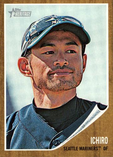Photo of 2011 Topps Heritage #238 Ichiro Suzuki