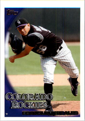 Photo of 2010 Topps #565 Franklin Morales