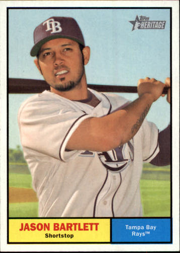 Photo of 2010 Topps Heritage #399 Jason Bartlett