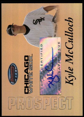 Photo of 2007 Bowman's Best Prospects Gold #BBP55 Kyle McCulloch AU