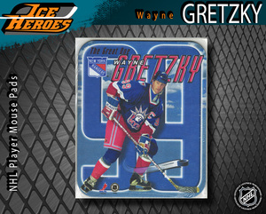 WAYNE GRETZKY New York Rangers Mouse pad - New in Plastic