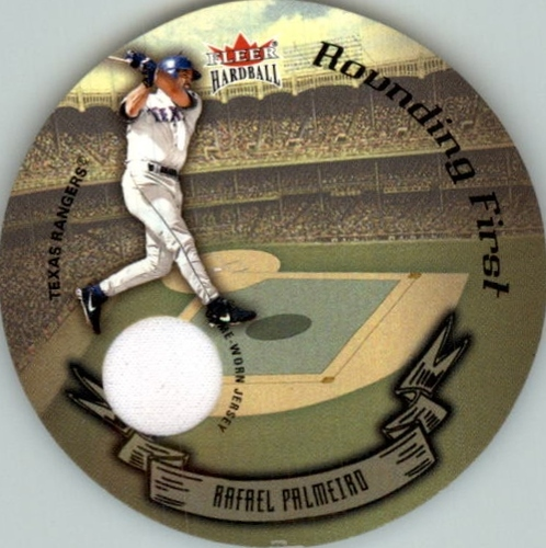 Photo of 2003 Fleer Hardball Round Trippers Rounding First #10 Rafael Palmeiro Jsy/515