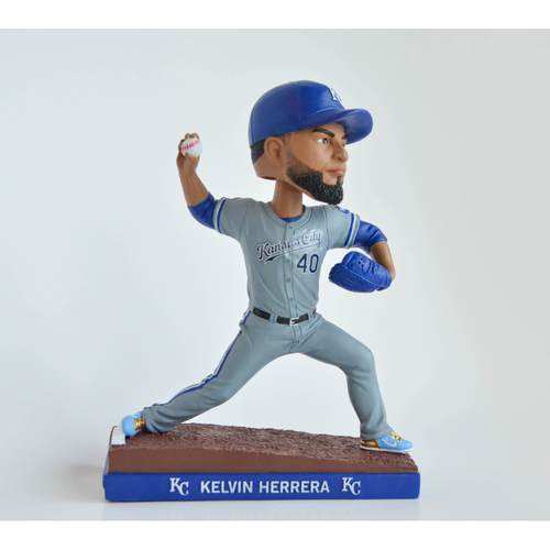 Photo of Royals Charities: Kelvin Herrera Bobblehead