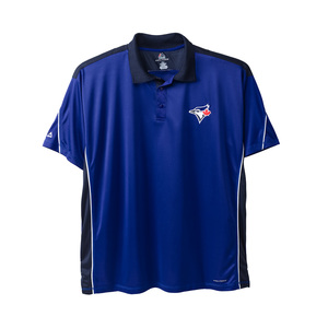 Toronto Blue Jays Big & Tall Tenth Power Golf Polo Royal/Navy by Majestic