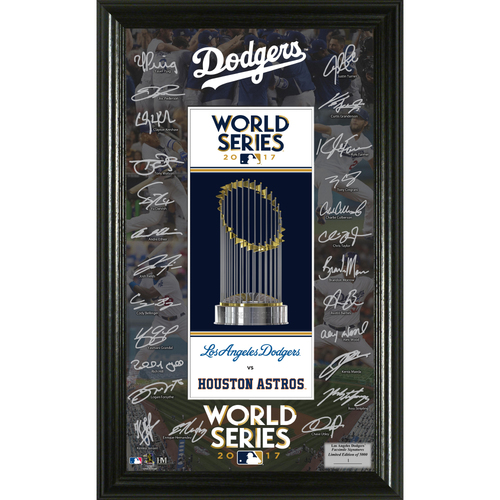 Photo of Los Angeles Dodgers 2017 NL Champions Signature Frame