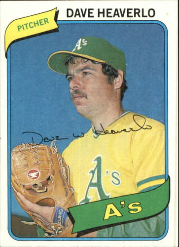 Photo of 1980 Topps #177 Dave Heaverlo