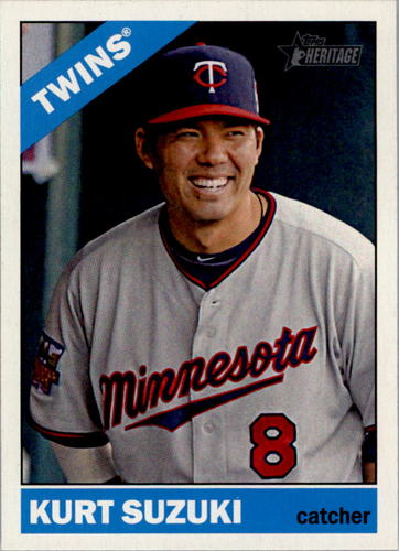 Photo of 2015 Topps Heritage #240 Kurt Suzuki