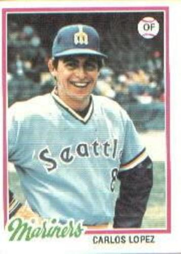 Photo of 1978 Topps #166 Carlos Lopez