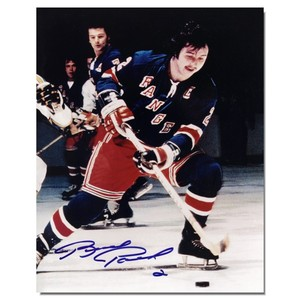 Brad Park Autographed New York Rangers 8x10 Photo
