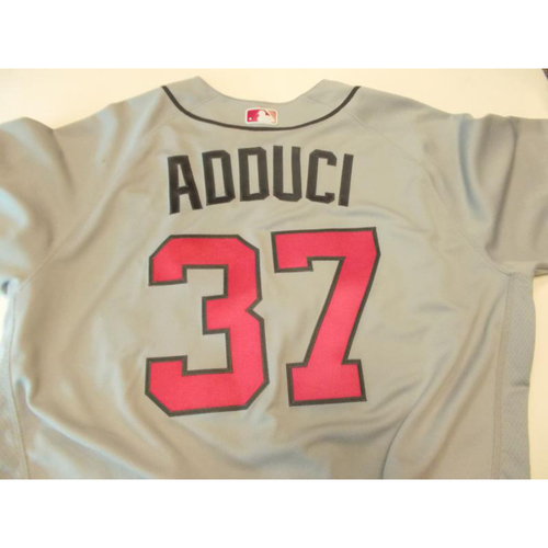 Photo of Team-Issued Jim Adduci Mother's Day Jersey