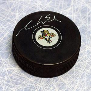 Aaron Ekblad Florida Panthers Autographed Hockey Puck