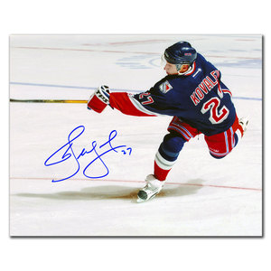 Alex Kovalev New York Rangers SLAPSHOT Autographed 8x10