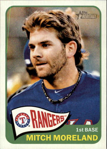 Photo of 2014 Topps Heritage #228 Mitch Moreland