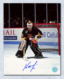 KIRK MCLEAN Vancouver Canucks SIGNED 8x10 Photo