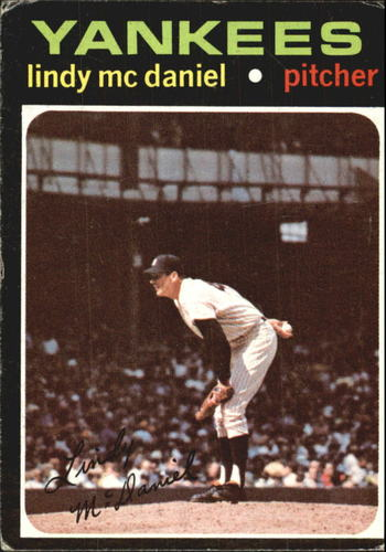 Photo of 1971 Topps #303 Lindy McDaniel
