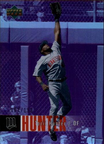 Photo of 2006 Upper Deck Special F/X Purple #285 Torii Hunter /150