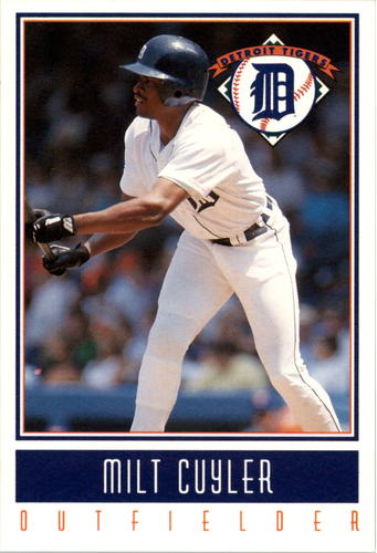 Photo of 1993 Tigers Gatorade #4 Milt Cuyler