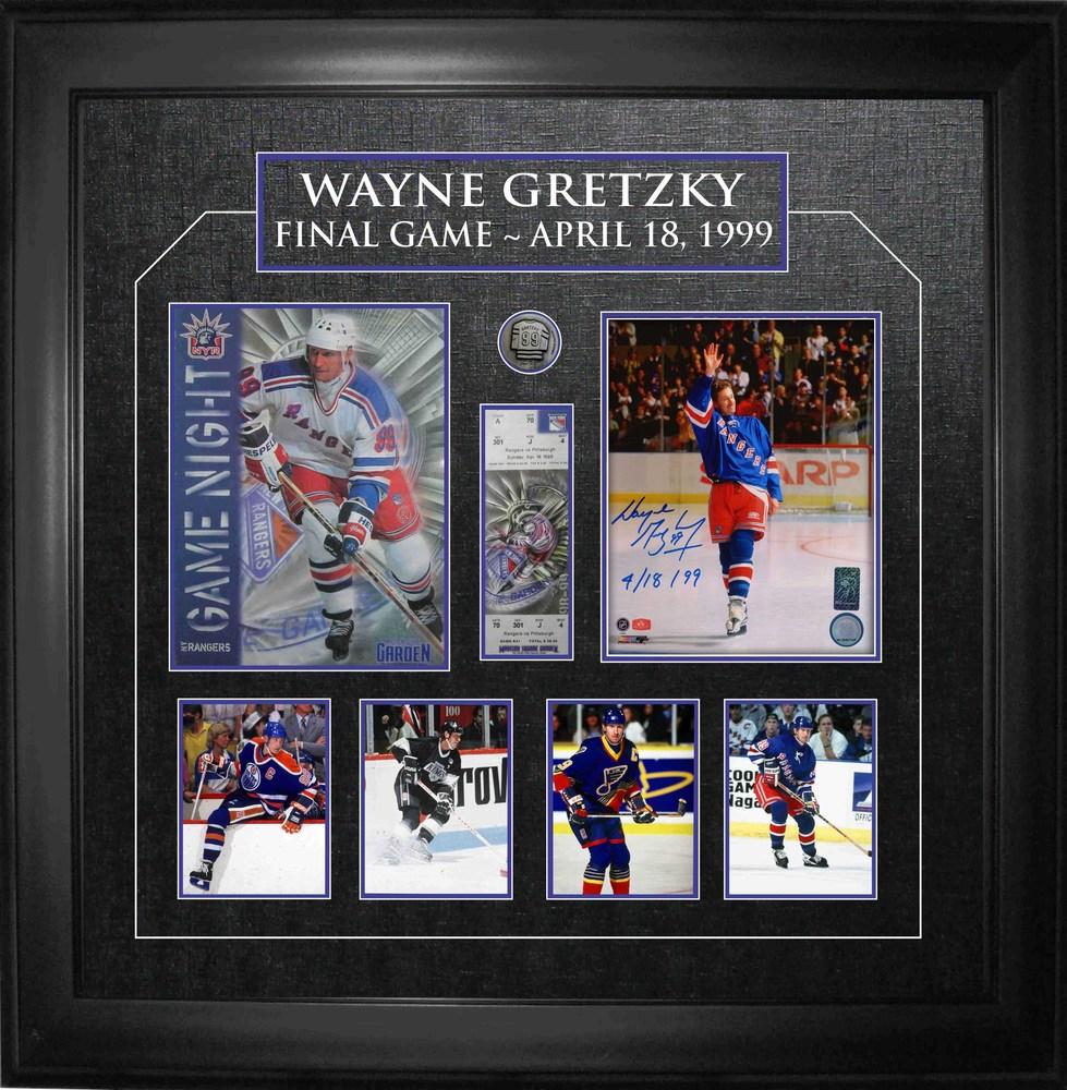 Wayne Gretzky - Signed & Framed 8x10