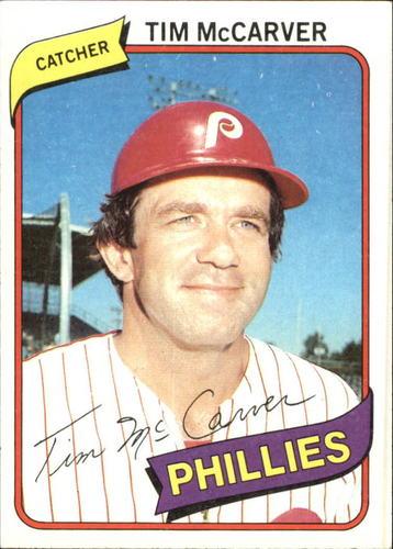 Photo of 1980 Topps #178 Tim McCarver