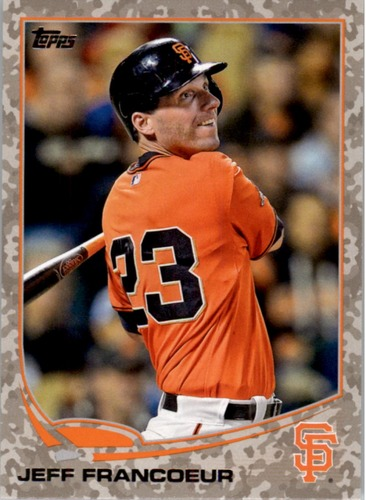 Photo of 2013 Topps Update Camo #US153 Jeff Francoeur