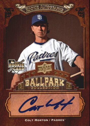 Photo of 2008 Upper Deck Ballpark Collection #116 Colt Morton AU RC