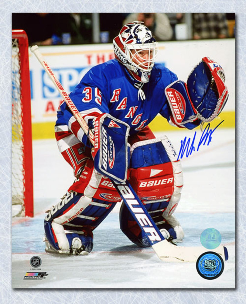 Mike Richter New York Rangers Autographed Hockey Goalie 8x10 Photo