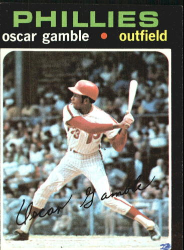 Photo of 1971 Topps #23 Oscar Gamble