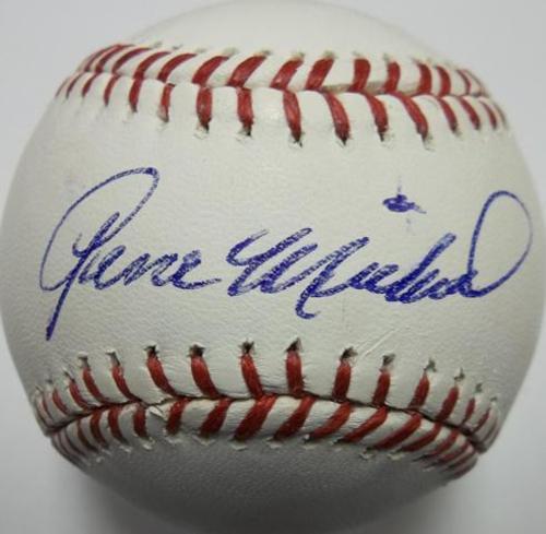Gene Michael Autographed Baseball