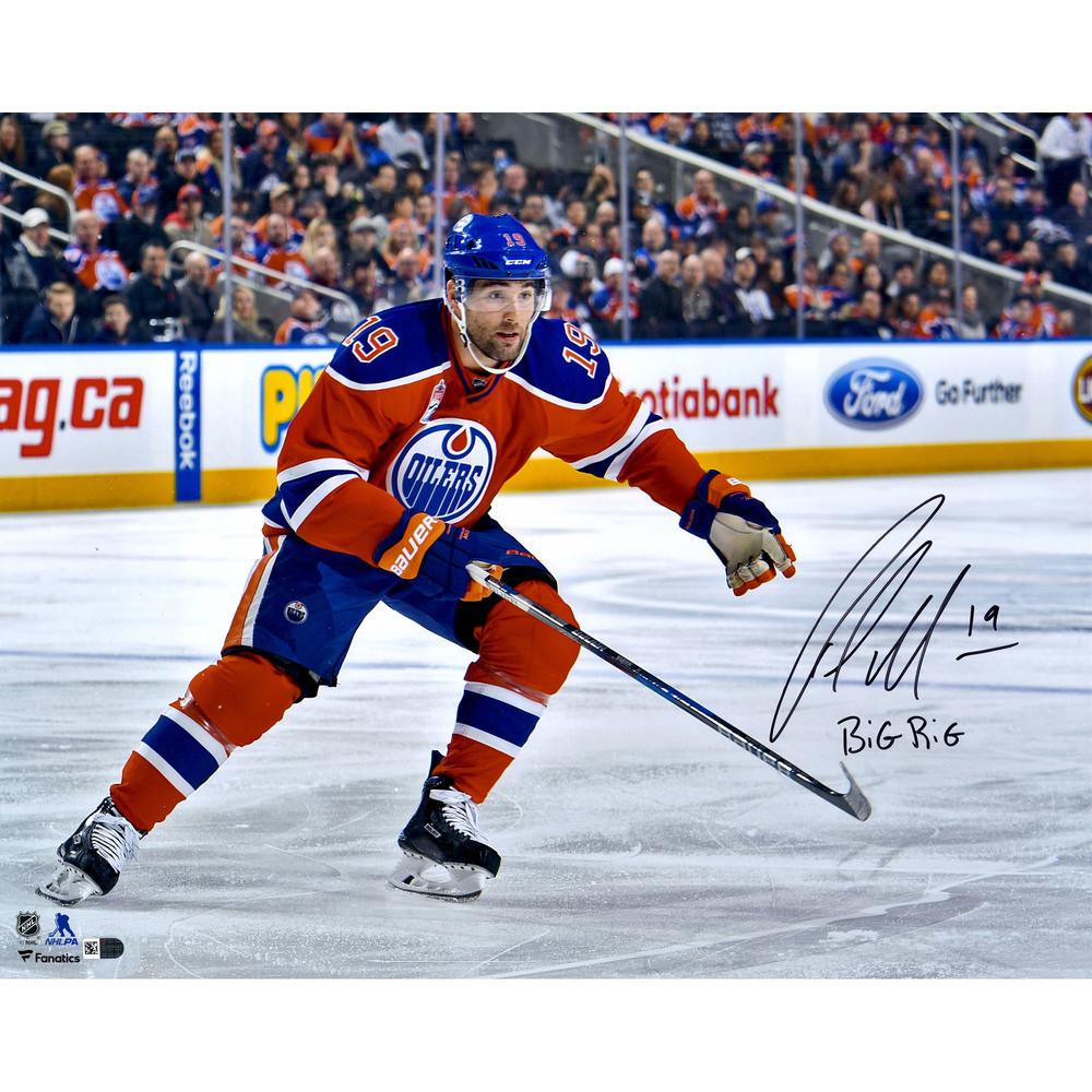 Patrick Maroon Edmonton Oilers Autographed 16