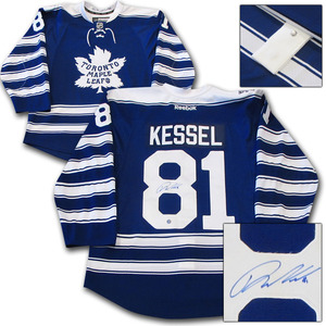 Phil Kessel Autographed Toronto Maple Leafs 2014 Winter Classic Pro Jersey