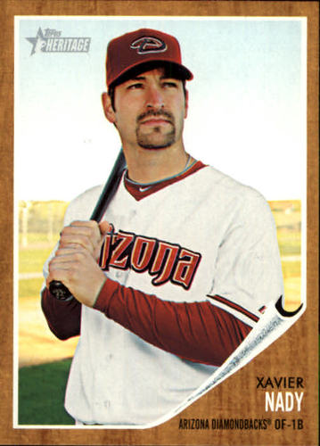 Photo of 2011 Topps Heritage #240 Xavier Nady